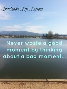 never waste