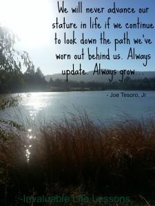 Always update, always grow