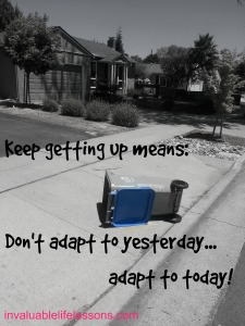 adapt to today