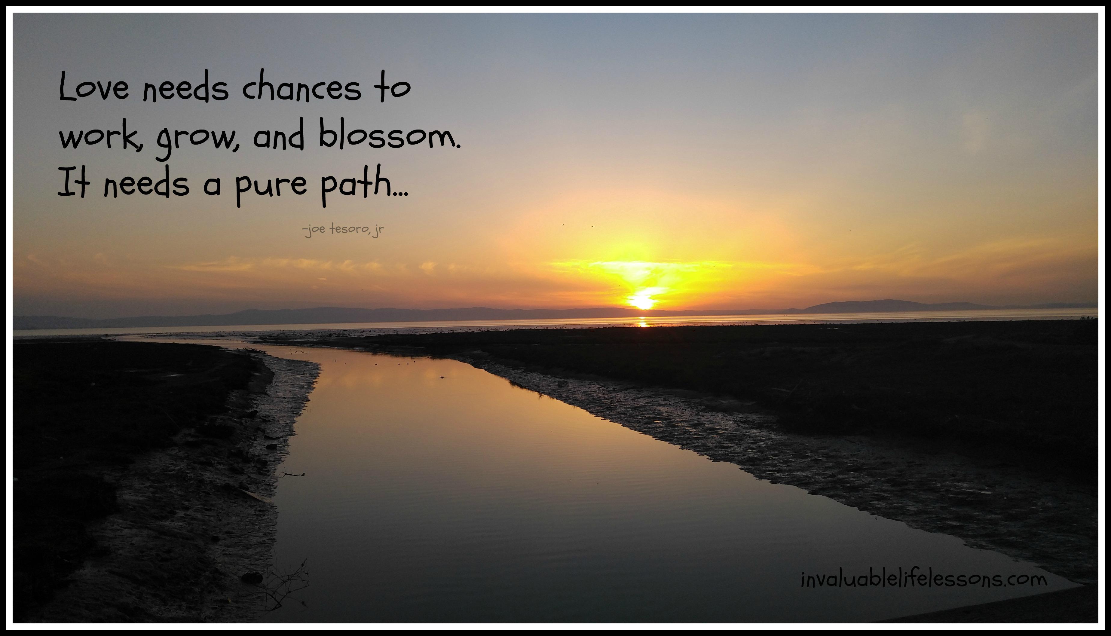 A Pure Path…