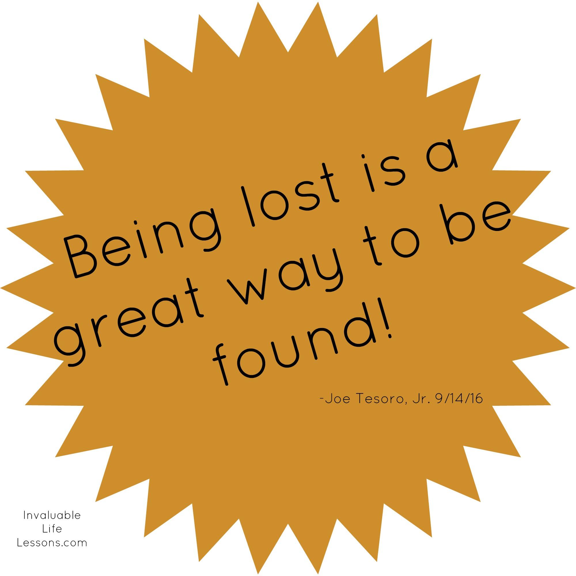 Lost & Found…