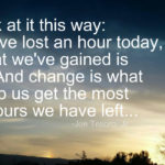 Change Can Help…