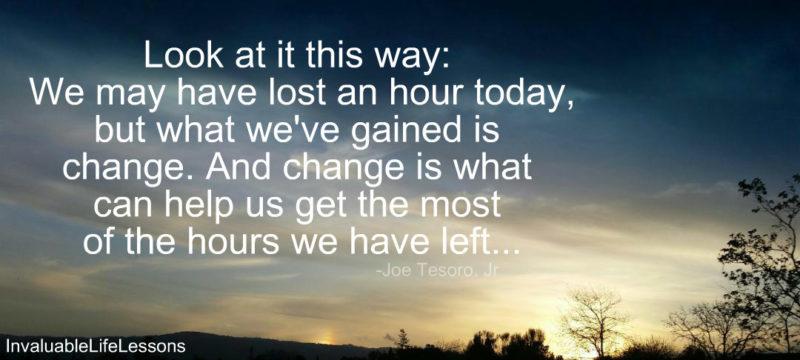 Change Can Help…